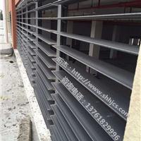 供应户外消防排烟电动铝合金百叶窗