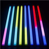 铝材LED七彩护栏管 跑马灯内控外控七彩外墙广告灯管线条灯彩虹灯