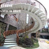 钢结构旋转楼梯 室外钢结构楼梯 厂家直销 一站式定制
