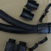 新疆供应双拼尼龙软管 配套可打开式软管接头AD25.8-M25*1.5