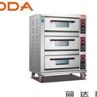 厂家供应3层3盘烤箱 荷达电(气)烤箱