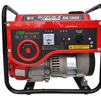 供应肥东小型汽油发电机铃鹿SHL1200Q