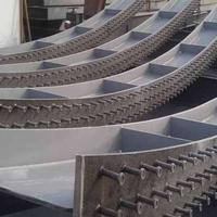 枣庄弧形钢结构柱加工价格请咨询三维钢构