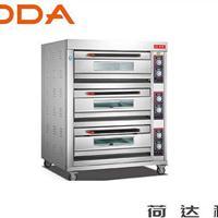 供应3层6盘电(气)烤箱 荷达烤箱厂家直销中