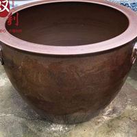 景德镇厂家供应陶瓷大缸 青花瓷养鱼缸  商务礼品大缸
