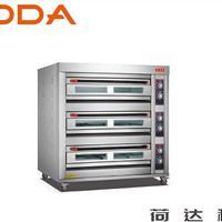 3层9盘电(气)烤箱 荷达厂家直销