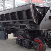 轨道式大型气动自卸车