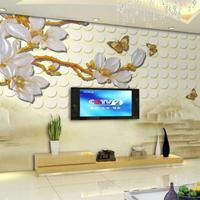 竹木纤维集成墙板护墙板3D5D立体浮雕背景墙快装 竹木阁厂家直销