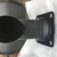 挖掘机钣金覆盖件 小松原厂配件pc360-7消音器尾管