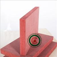 c级难燃中纤板 15mm江苏阻燃密度板 展示柜防火板