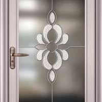 铝合金平开门 钢化 无轨隔音玻璃 厕所门 卫浴门