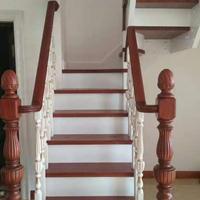 安徽实木楼梯厂,成品楼梯订做,家用成品楼梯