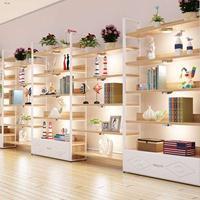 名创优品货架、十元店货架、饰品店货架、精品店装修