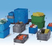 加厚塑料周转箱长方形过滤周转筐塑胶工具箱子有盖箱储物箱