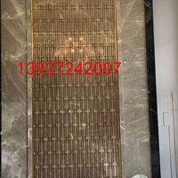 浙江会所装饰不锈钢屏风 镜面黑色中式不锈钢隔断
