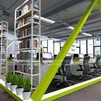 昆明办公室装修公司哪家好?居乐高装饰高端绿色办公室装修设计