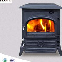 HiFlame HF577M大型独立式多燃料铸铁燃木壁炉