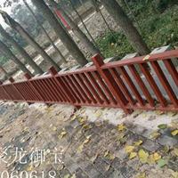 西安仿古护栏、防腐木护栏定制厂家、实木护栏厂家直销价格