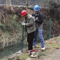 湖南水源地防护网价格 厂家定做 铁丝网安装原理简要说明