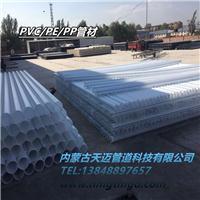 赤峰pp灌溉管生产厂家 白色塑料管聚丙烯管材浇地管厂家直销