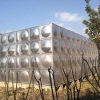 供应304不锈钢水箱方形水箱加工定制不锈钢方形1吨生活水箱小水箱