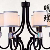 沈阳新中式灯具 全铜新中式吊灯 时尚现代中式灯饰