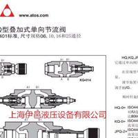 阿托斯节流阀现货JPQ-212/G 18