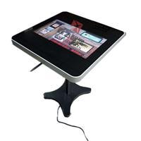 鑫飞智显21.5寸立式智能点餐桌 多点触控智能餐子 自动点餐电子桌