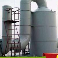 惠州有机废气处理设备PP喷淋塔废气净化塔