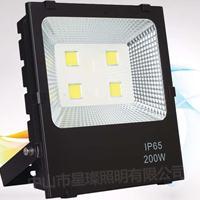LED广告招牌投光灯户外楼体招牌照射景观局部照明50w100