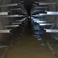 电缆沟漏水怎么办电缆隧道渗漏水如何处理找鸿飞隧道堵漏公司