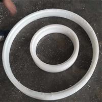 高密度聚乙烯防滑板 化工机械用耐腐蚀聚乙烯垫圈 pe加工件