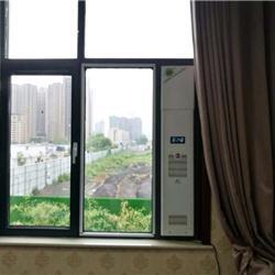 济南槐荫区新风净化器美加尔新风净化器窗户上安装的净化器