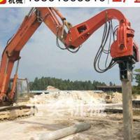 工程机械打钢板桩机器 液压打桩锤机械有限公司 混凝土方桩压桩机