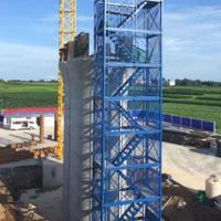 桥梁建筑安全爬梯地铁基坑隧道施工箱式梯笼官方品质保证