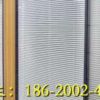 惠州办公室双层玻璃带百叶窗隔断