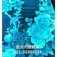 上海激光玻璃打标 玻璃雕刻 玻璃内雕