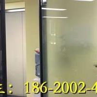 珠海办公室双层玻璃带百叶隔断
