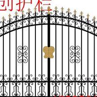 芜湖厂家直销铁艺大门 庭院大门 别墅大门 仿古铜大门等各种大门