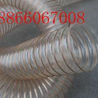 大口径400mmpu除尘通风管、PU钢丝吸尘风管、厂家直销