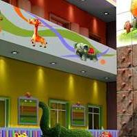 郑州幼儿园户外玩教具和绿化园林景观设计施工
