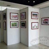 摄影书画展览架 油画框展示架 展厅画展展板