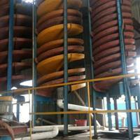 煤泥分选设备 煤矿重选溜槽 钛铁矿重选溜槽