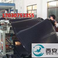 陕西铜川PVC排水板批发屋顶绿化排水板 车库地下室排水板厂家直销