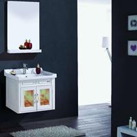 供应ABS合成塑料60cm浴室柜订制
