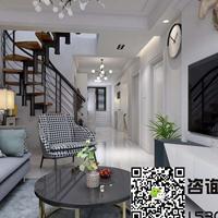 明居装饰_托斯卡纳80平米北欧loft