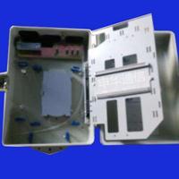 供应1分32芯光分路器箱1分32芯光纤分光箱插片式SMC
