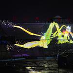 Z墙体广告投影灯 新款建筑外墙广告投影机 外墙亮化投影