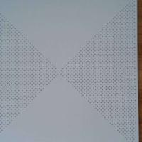 专业生产工程铝扣板 冲孔吸音方板铝天花