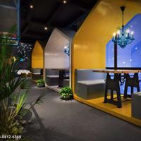 摩天轮咖啡厅-成都工业风咖啡厅装修设计公司